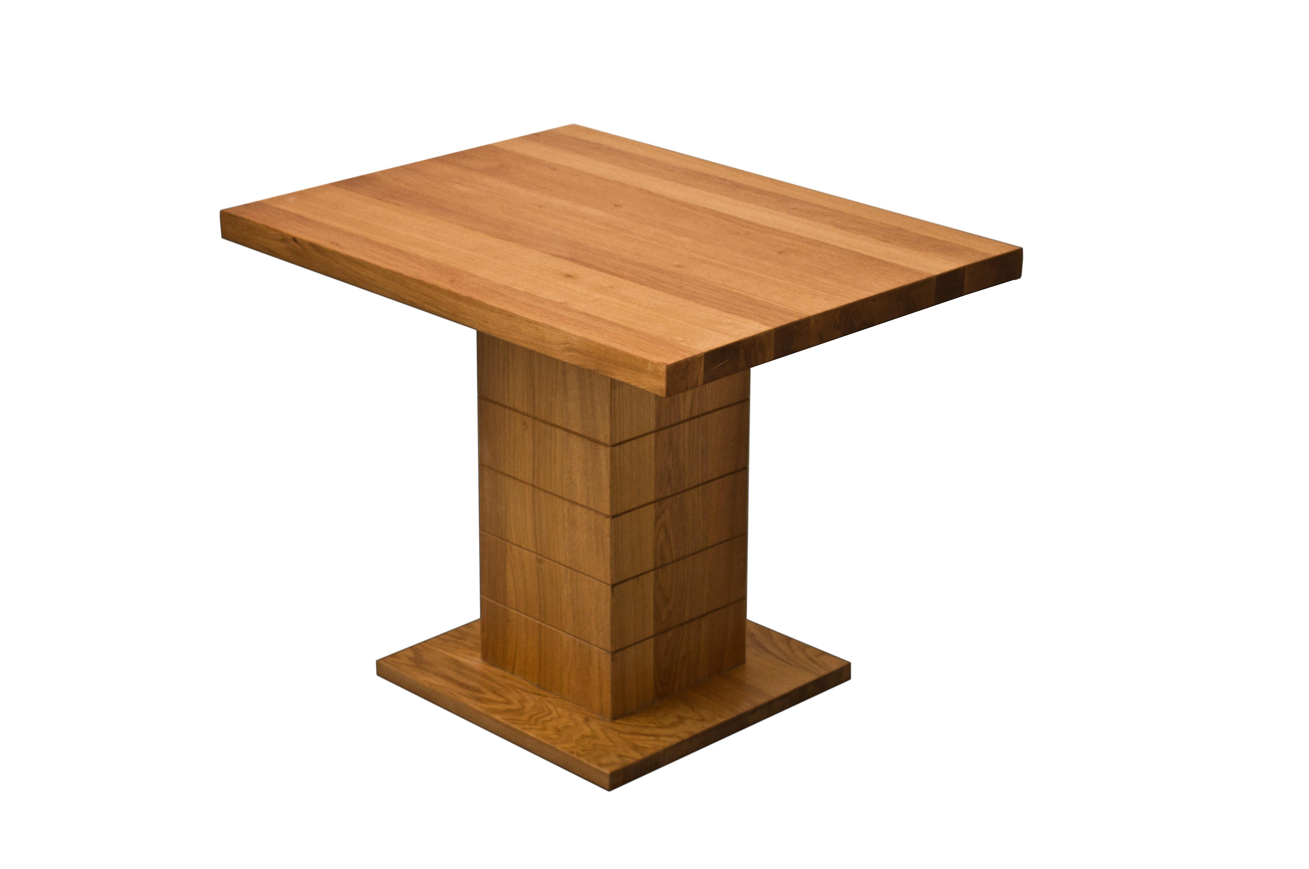 Masuta lemn stejar masiv
