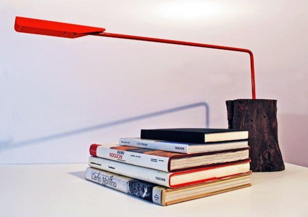 Lampa butuc - - butucii ca design