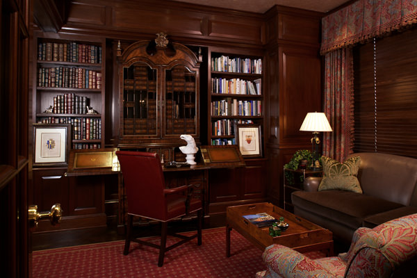 Biblioteca in stil Federal- mobila antica