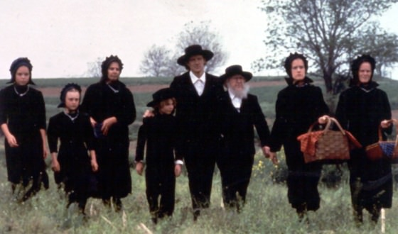 Familie Amish contemporana