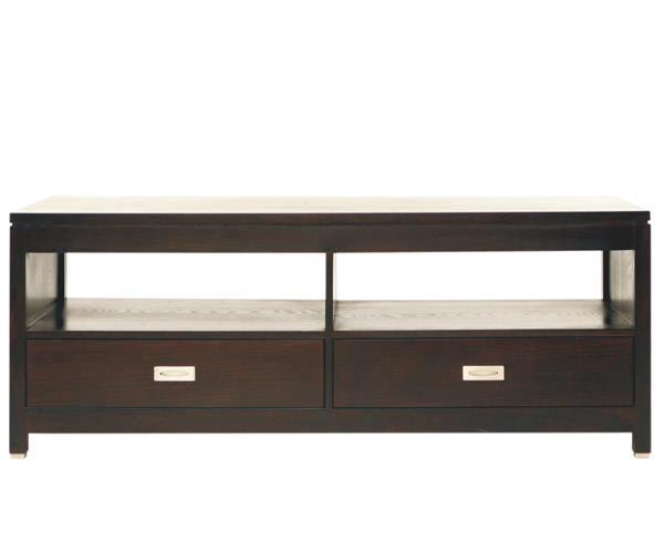 comoda tv 2 sertare oak mare