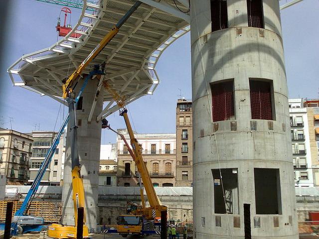 Metropol Parasol 2007 - Inceputul constructiei