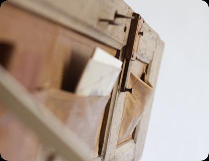 Idee superba de design  - lemn vechi