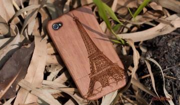 Accesorii din lemn … pentru iPhones, iPads si iPods