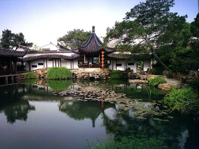 Gradina japoneza cu lac Gradini Japoneze