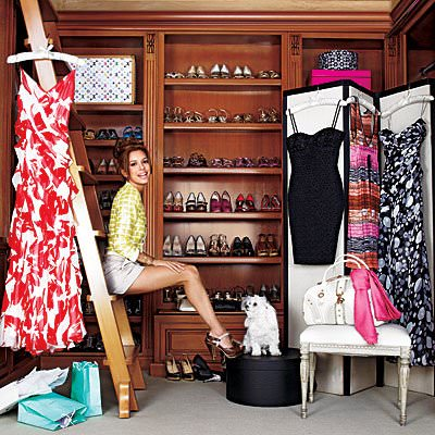 Garderoba Eva Longria - vedeta