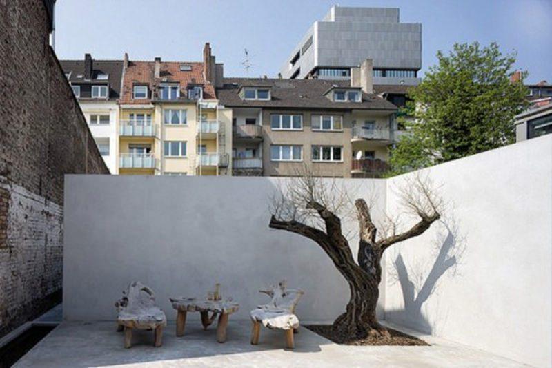 Terasa balcon casa din Dusseldorf
