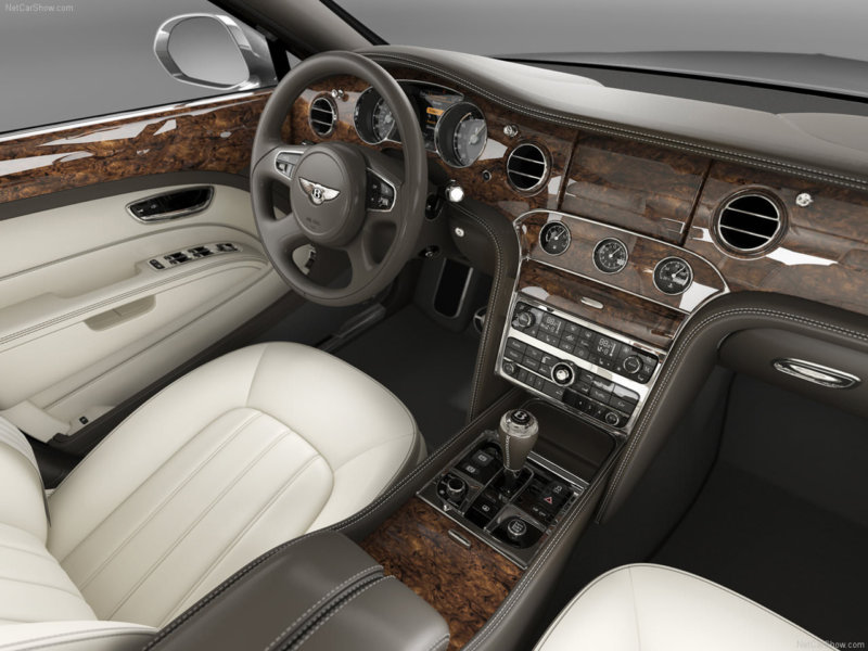 Bentley Mulsanne Interior - masini de lux