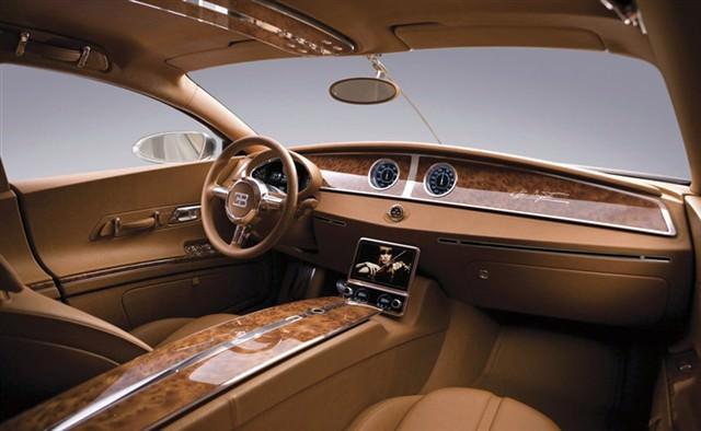 Bugatti Galibier 16C - Interior - masini de lux
