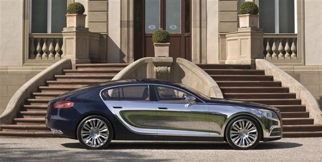 Bugatti Galibier 16C exterior
