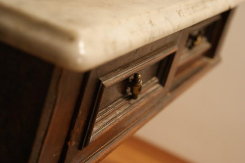 Detaliu unui sertar pentru servanta