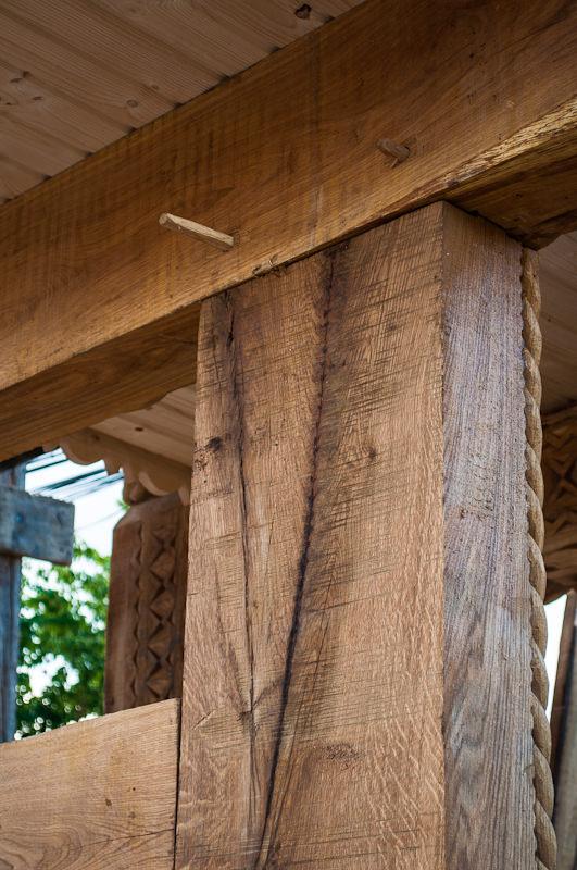 Imbinare cu cuie de lemn (esenta de stejar)