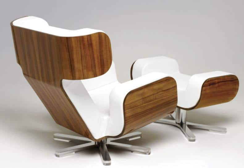 Wing Lounge Chair Lyx
