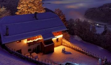 Spiritul vanatorilor in cabana Alpilor!