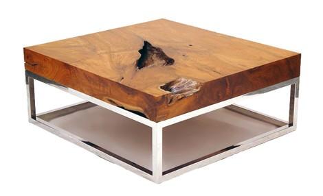 Bloc solid pentru blatul masutei de cafea - Design Chista