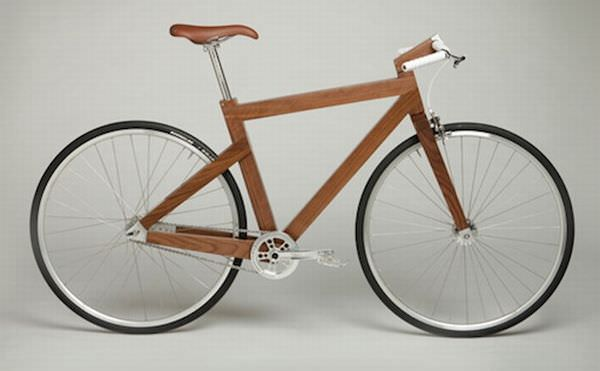 Bicicleta din nuc negru - Design LagoMorph eco