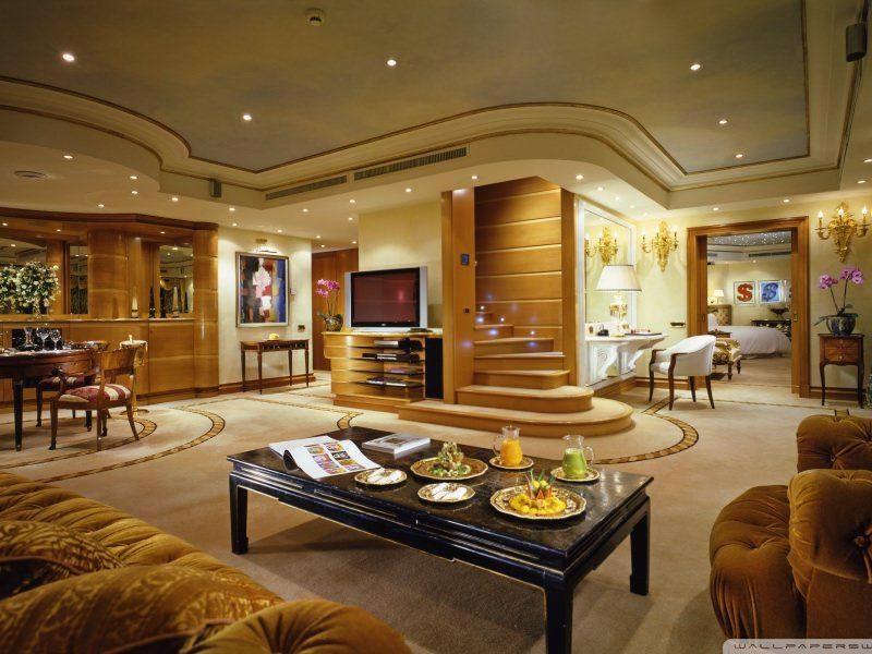 Decor de lux in amenajarea unui apartament