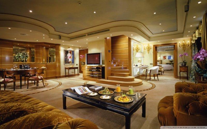 Decor de lux in amenajarea unui apartament - sibaritism