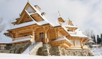 casa din lemn Polonia