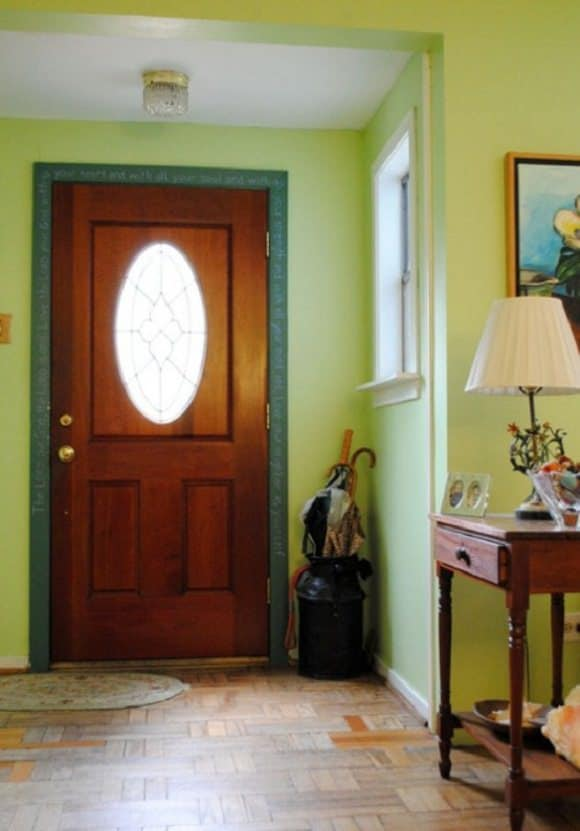 casa colorata