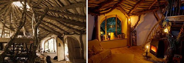 interior casa ecologica