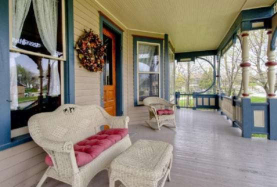 amenajare veranda Queen Anne Victoria