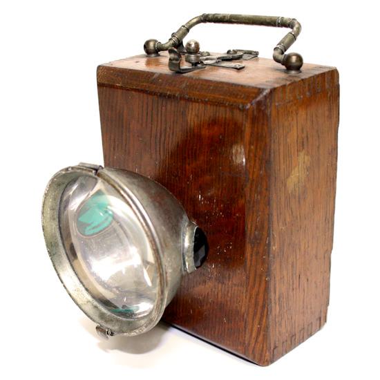 lampa de mina