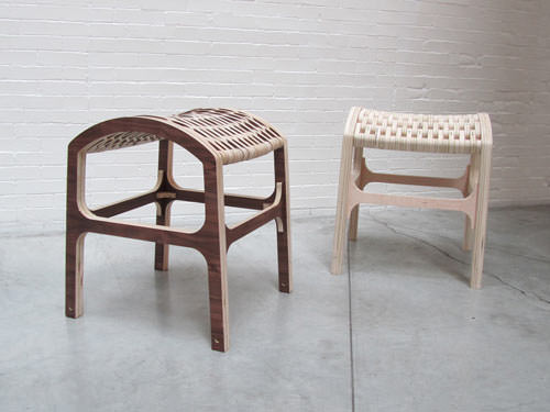 Hyeonil Jeong Caterpillar Stool