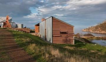 Casa din lemn masiv de pe meleagurile Tasmaniei!