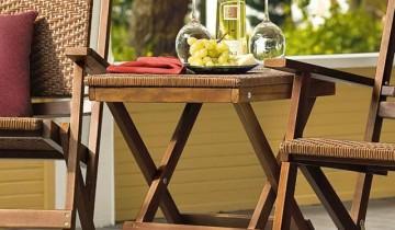 Solutii pentru spatiile mici – scaunelul sau scarita pliante