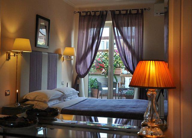 design interior B&B Althea Inn Roma