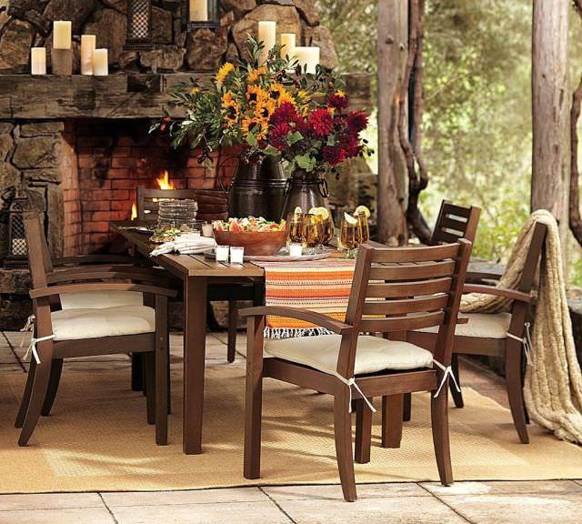 mobila rustica pentru dining