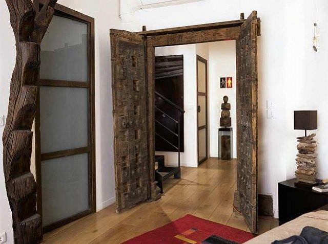decor cu lemn