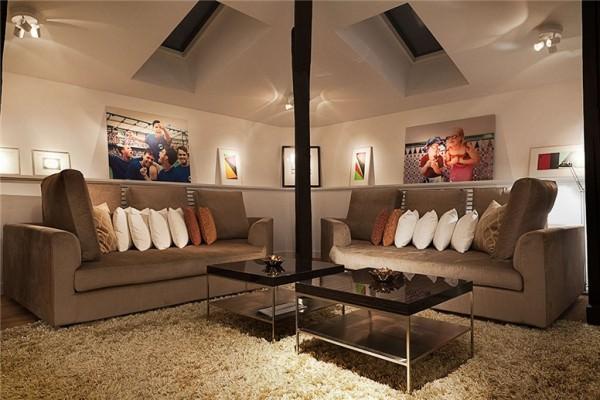design scandinav - Apartament de mansarda