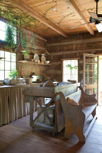 bucatarie de cabana