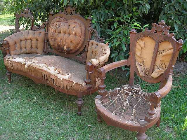 scaune stil victorian