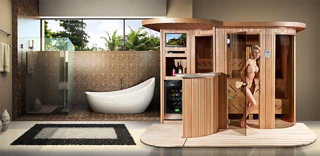 sauna sare lemn - sauna finlandeza