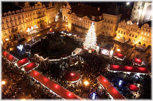 Praga - Targurile de Craciun
