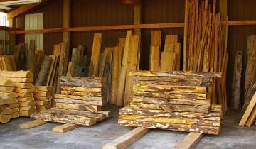 Grinda de lemn pentru semineu