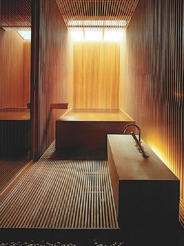 baie cu lemn masiv