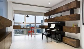 Amenajarea unui living de apartament spatios