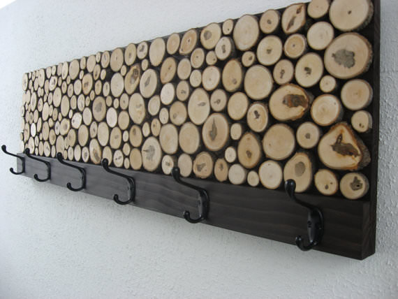 bustean de lemn