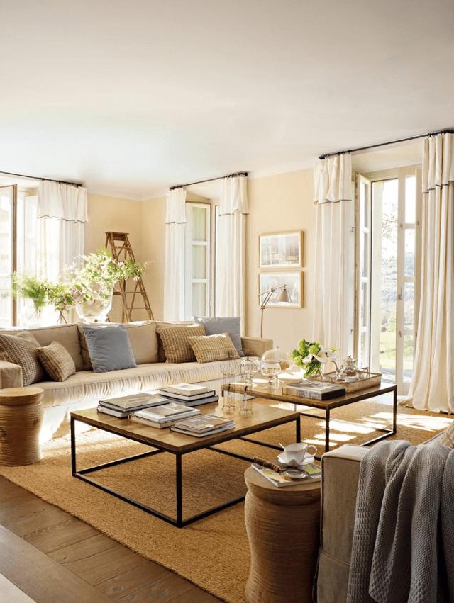 living room neutru
