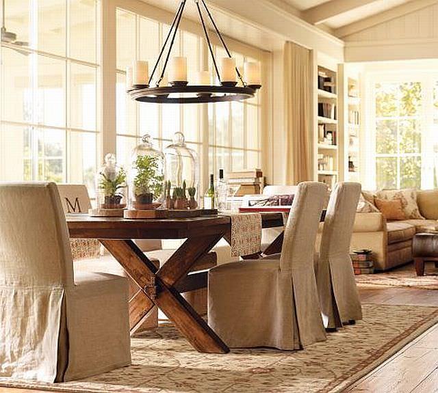 masa rustica cu scaune elegante schimbarea stilului