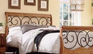 Lemnul si fierul forjat sunt o alegere inspirata pentru amenajarile si decoratiunile interioare