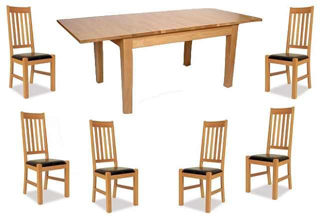 masa provence cu scaune tapitate piele ecologica