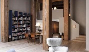 Apartament american decorat în stil european