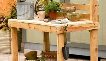 mobilier de gradina