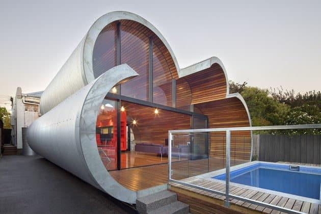 casa in forma de nor