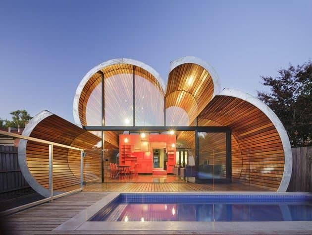 casa in forma de nori